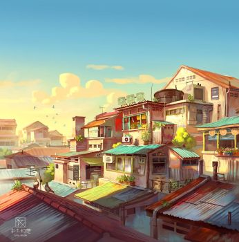 afternoon by FeiGiap