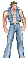 double dragon Billy by andymcartus