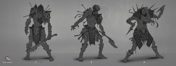 Undead Concept 01 by Darkcloud013
