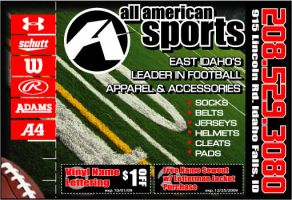 All American AD by jsgraphix
