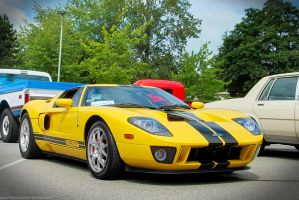 Classic Ford GT by SeanTheCarSpotter