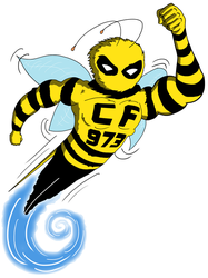 Cross Fit Bee by BillAxt