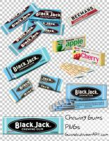 chewing gums PNG by gwendo0