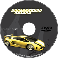 Underground Racers DVD Cover 2 by masoudhaghi