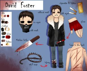 David Foster Reference Sheet (outdated) by AnjuDere