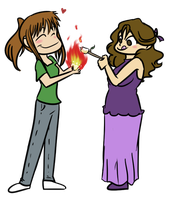 baby light my fire by amiko16