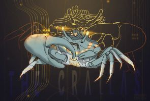 Crallas: the meanest crab in all the system by kfenixx