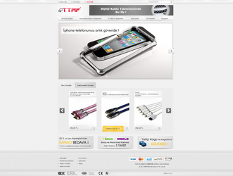 TTAF Electronics - E-Commerce by interfacedesigner
