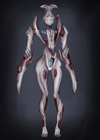 [Warframe] Eido-lady by lukinu-u