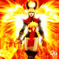 Phoenix Magik by Cahnartist