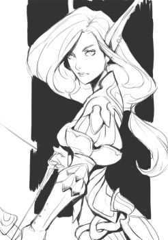 Sketch_Elf by Lagunaya