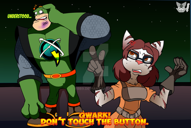 The Forbidden Button and Curious Captain.. by RB9