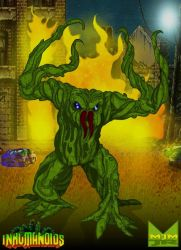 Tendril - Ravager of the Earth by wondermanrules
