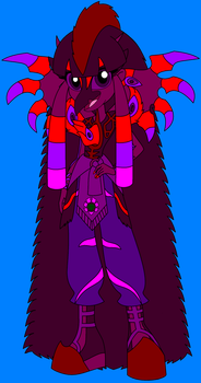Hannah And Doomwing Fused Together by HannahBro