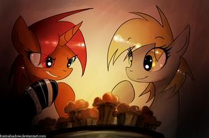 Muffins and Mad Plotting by Mad-Cloak