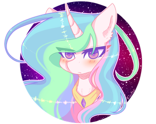 Princess Celestia by Rizetka