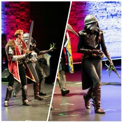Inquisiting at MomoCon by eitanya