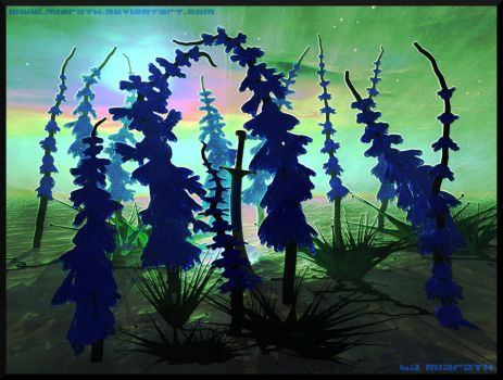 Surreal Pines by Miarath