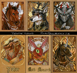Byzantine Badges 2015 - Batch 1 by kittiara