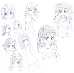 old sketches by Pluvias