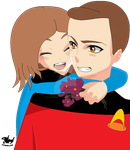 Me and Wesley Crusher (MARISSAKIN) by Dolphingurl21stuff