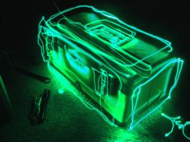 Light Painting - Toolbox by neon280