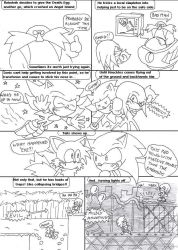 Sonic Timeline Summary Pt2 by supersonikku