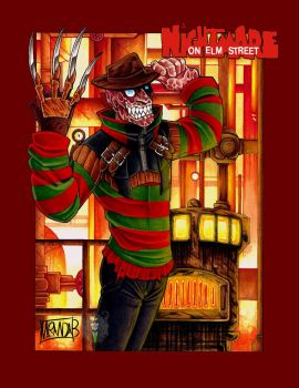 A Nightmare on Elm Street by DeathRage22
