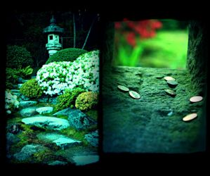 Japanese Garden by beam-of-moon