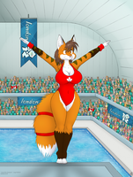 Diving at the Olympics by geckoguy123456789