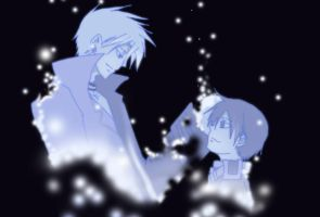 07-Ghost: Frau x Teito. Will be together by rinity