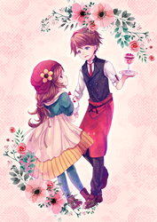 Story of Seasons: MC x Raeger by Pluvias