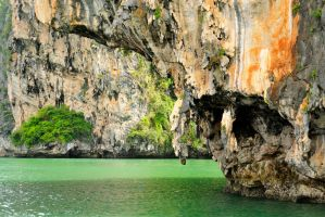 Karst scenery 1 - Phang Nga Bay, Thailand by wildplaces