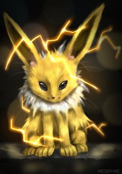 Jolteon by Mega-Ne