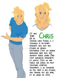OC Chris by Tailspoissonchat