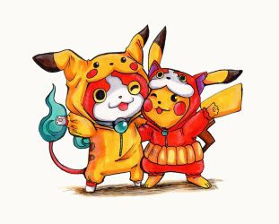 Coexist: Pika Pika! Nyan! by crazytreasurestudio