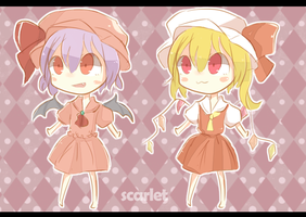 Touhou: Double Scarlet by fokkeo