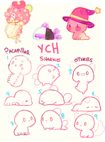 Piku chibis YCH - CLOSED by Yesirukey