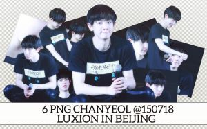 PACK PNG CHANYEOL @150718 LUXION IN BEIJING by victorhwang