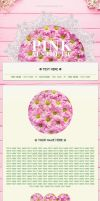 Pink Aesthetic Journal Skin (Non-Core! / F2U) by HelloStarseed