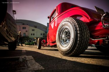 Highboy Hot Rod by AmericanMuscle