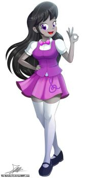 Equestria Girls Octavia by The-Butcher-X  by animehero64