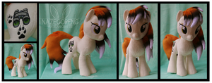 Foxilocks Custom Plush by Nazegoreng