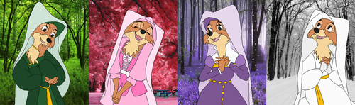 Color Spectrum Maid Marian by SelenaEde