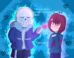 I will be here// Undertale by gloriapainthtf