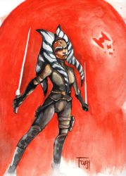 Ahsoka by furgy12