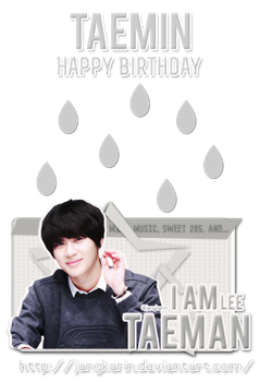 [Signature] My Taeman!!!- Taemin SHINee by jangkarin