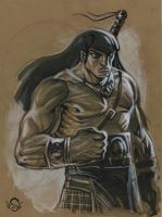 Conan The Barbarian Commission by Steve-Ellis