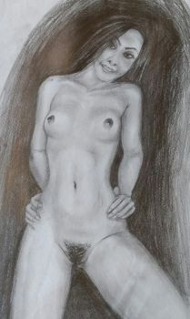 Laura - Quick Nude by balonyshow