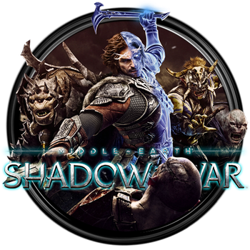 Middle Earth Shadow of War Dock Icon by OutlawNinja